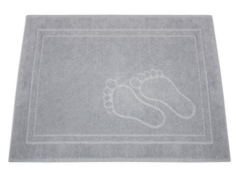 Dywanik łazienkowy - Feet - 50x70 cm - Jasny popielaty - Greno