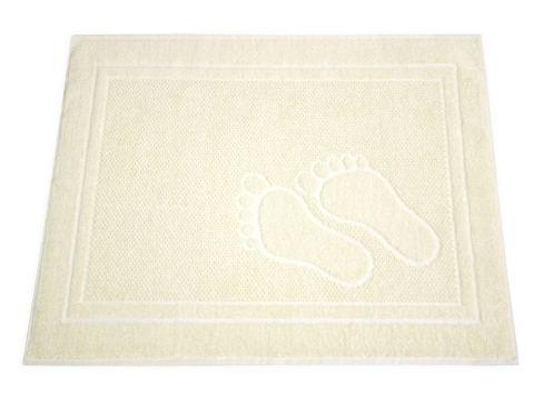 Dywanik łazienkowy - Feet - 50x70 cm - Kość słoniowa - Greno