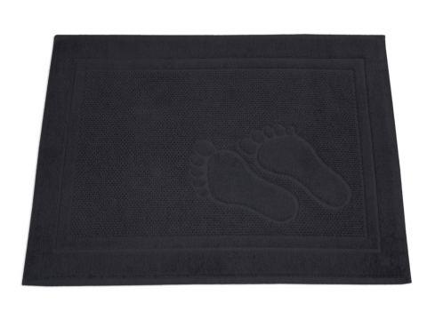 Dywanik łazienkowy - Feet - 50x70 cm - Popielaty - Greno