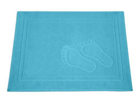 Dywanik łazienkowy - Feet - 50x70 cm - Turkusowy - Greno