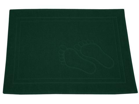 Dywanik łazienkowy - Feet - 50x70 cm - Zielony - Greno
