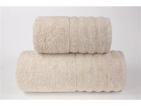 Ręcznik - Alexa - 70 x 130 - Beżowy jednobarwny - Greno