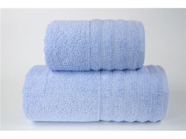 Ręcznik - Alexa - 50 x 90 - Błękitny jednobarwny - Greno