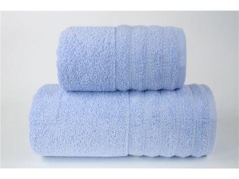 Ręcznik - Alexa - 70 x 130 - Błękitny jednobarwny - Greno