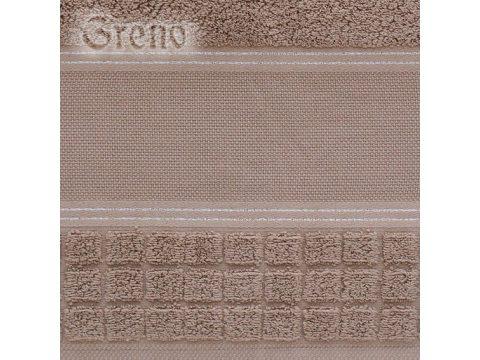 Ręcznik Greno Special brązowy  50x100