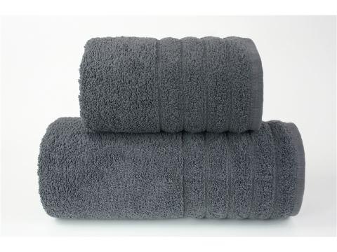 Ręcznik - Alexa - 50 x 90 - Ciemny Popielaty - jednobarwny - Greno