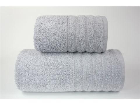 Ręcznik Alexa - 50x90 - Jasno Popielaty - jednobarwny Greno