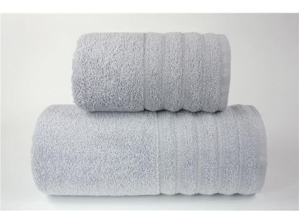 Ręcznik - Alexa - 50 x 90 - Jasno Popielaty - jednobarwny - Greno