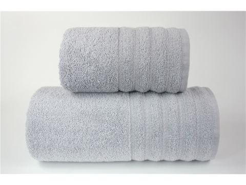 Ręcznik - Alexa - 70 x 130 - Jasno Popielaty - jednobarwny - Greno