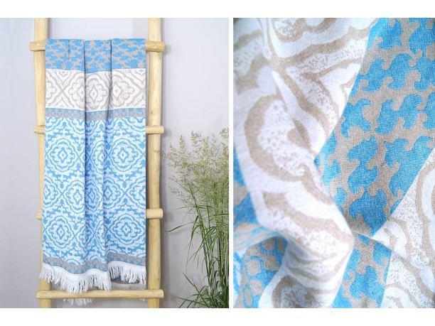 Ręcznik - plażowy - 90x180 cm - kąpielowy - Capri - Greno