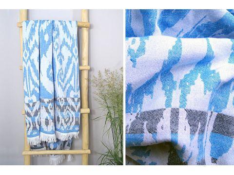 Ręcznik plażowy - 90x180 cm - Sardynia kąpielowy Greno