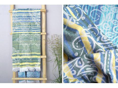 Ręcznik plażowy - 90x180 cm - Sycylia kąpielowy Greno