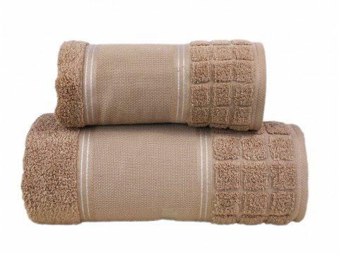 Ręcznik Greno Special brązowy  100x150