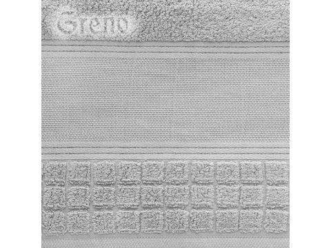 Ręcznik Greno Special stalowy 100x150