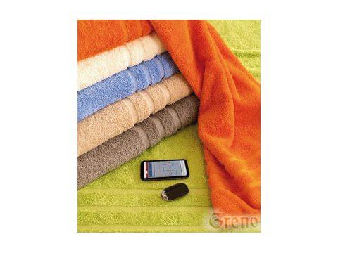 Ręcznik 90x150 B2B Brązowy Frotex