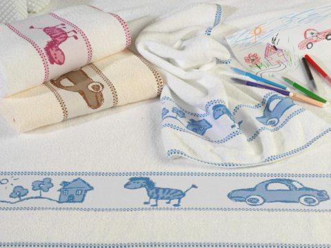 Ręcznik dla dzieci 50x70 Toys beżowy Frotex