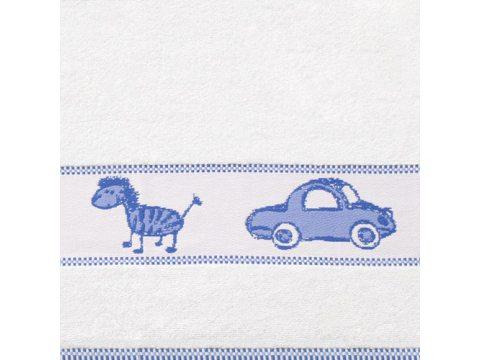 Ręcznik dla dzieci 50x70 Toys niebieski Frotex