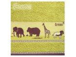 Ręcznik Sawanna 70x140 zielony Greno
