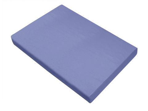 Prześcieradło Bawełniane Bielbaw 160x210  Błękitny Greno Niebieskie