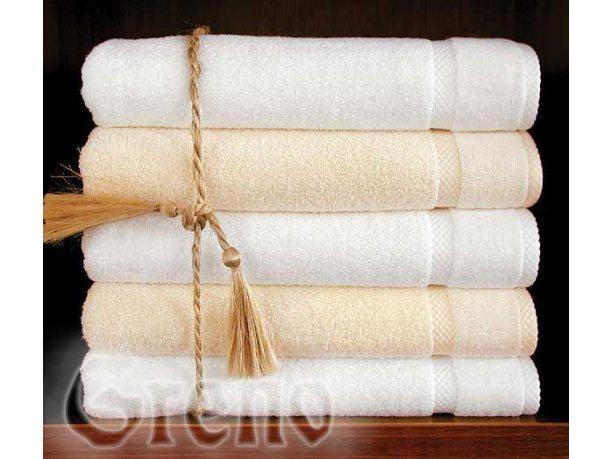 Ręcznik Greno Wellness  kremowy  50x90