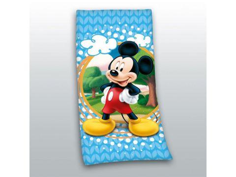 Ręcznik Plażowy licencyjny 70x140 cm Myszka Minnie STC 02 niebieski Disney