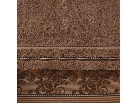 Ręcznik Greno Pretoria  brąz jasny 50x90