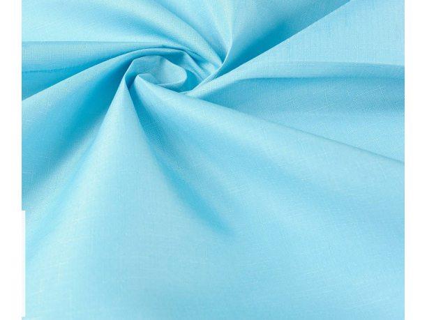 Obrus Plamoodporny  110x160  niebieski Len