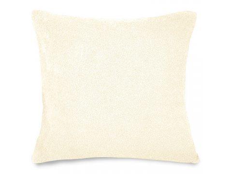 Poszewka na poduszkę Frotte jasny krem 40x40  int 007