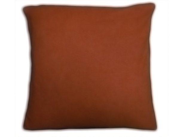 Poszewka na poduszkę Frotte rudy 40x40      int 022