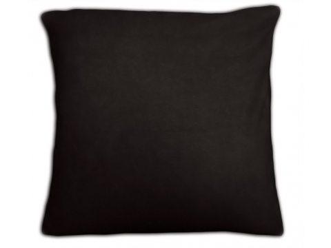 Poszewka  jersey na poduszkę czarny 40x40