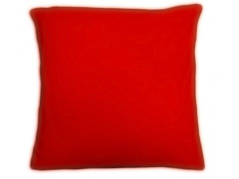Poszewka  jersey na poduszkę czerwona 40x40