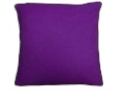 Poszewka  jersey na poduszkę fioletowa 40x40