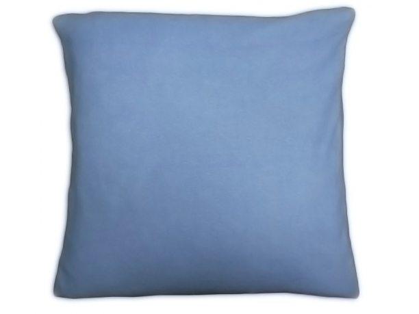Poszewka  jersey na poduszkę jasny niebieski 40x40