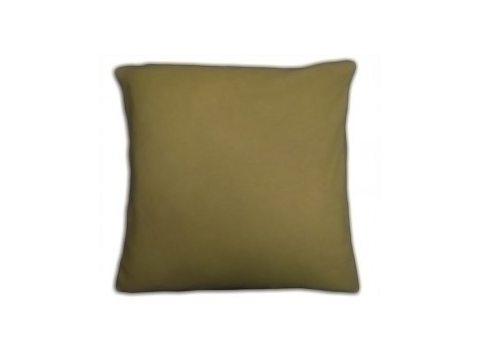 Poszewka  jersey na poduszkę oliwka 40x40