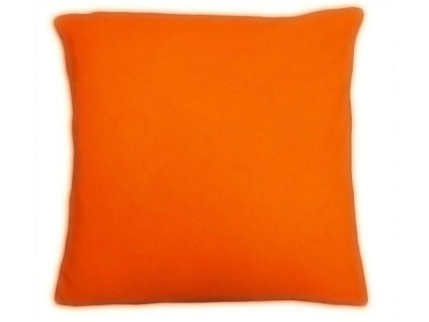 Poszewka  jersey na poduszkę pomarańczowa 40x40