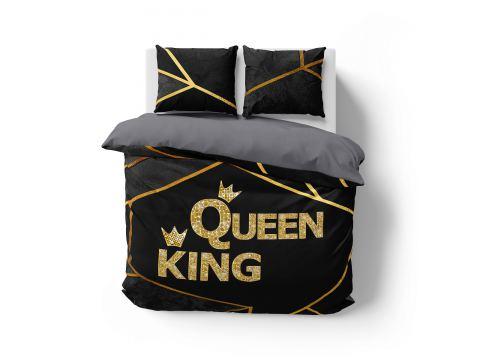 Pościel z bawełny 160x200 3892 A  Queen & King Holland  holenderska