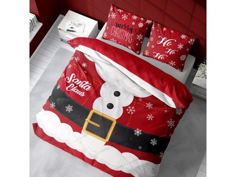 Pościel z bawełny 220x200 3902 A Mery Christmas Holland holenderska