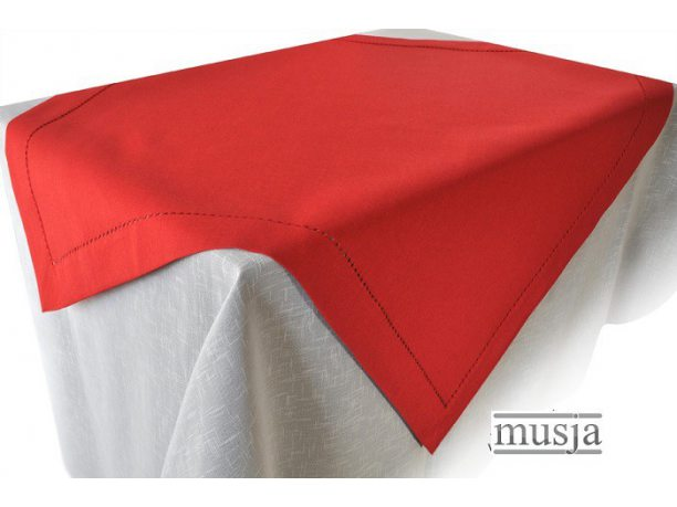 Serwetka z mereżką 30x45 czerwona
