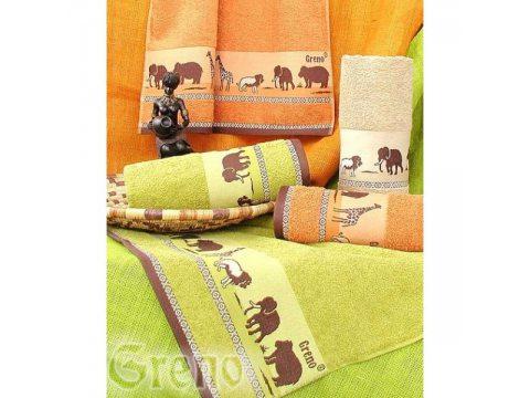 Ręcznik Greno 30 x 50 Sawanna zielony