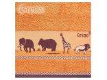 Ręcznik Greno Sawanna 30x50 terra