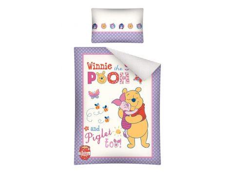 Komplet pościeli dziecięcej Winnie the Pooh / Kubuś Puchatek 100x135 Wtp 20 A