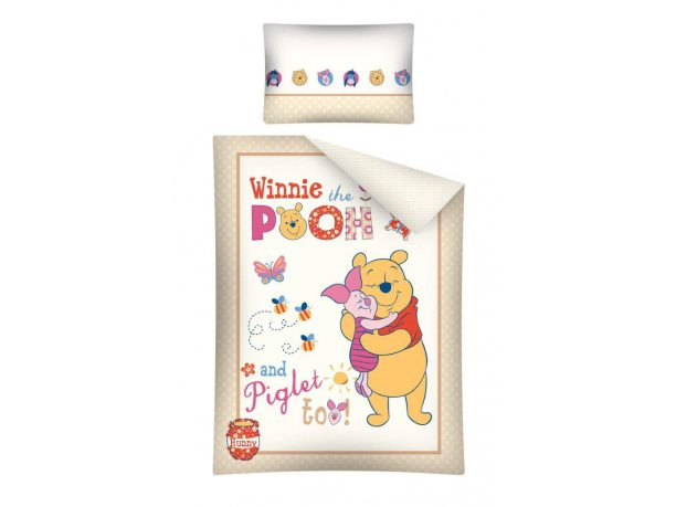 Komplet pościeli dla dzieci Winnie the Pooh / Kubuś Puchatek 100x135 Wtp 20 B