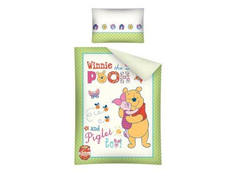 Komplet pościeli dziecięcej Winnie the Pooh / Kubuś Puchatek 100x135 Wtp 20 C