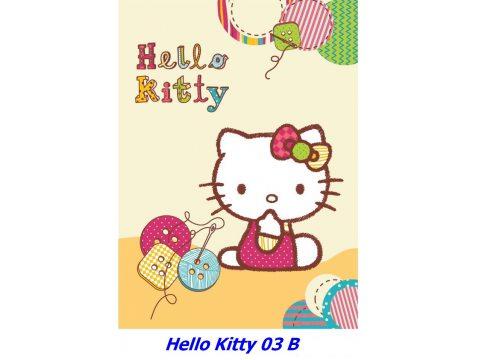 Kocyk dla dzieci akrylowy 80X110 cm Hello Kitty HK 03 B