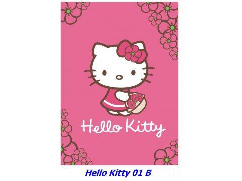 Kocyk dla dzieci akrylowy 100X140 cm Hello Kitty HK 01 B
