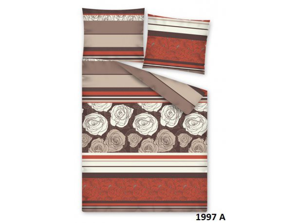 Pościel z satyny bawełnianej 160x200 cm Fashion  Satin 1997 A