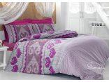 Komplet pościeli 4 el.  z bawełny Samara Violet  160x200