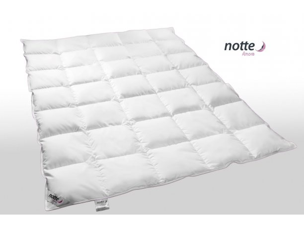 Kołdra całoroczna Puchowa Notte Amore Medium  90 % puch gęsi 180x200
