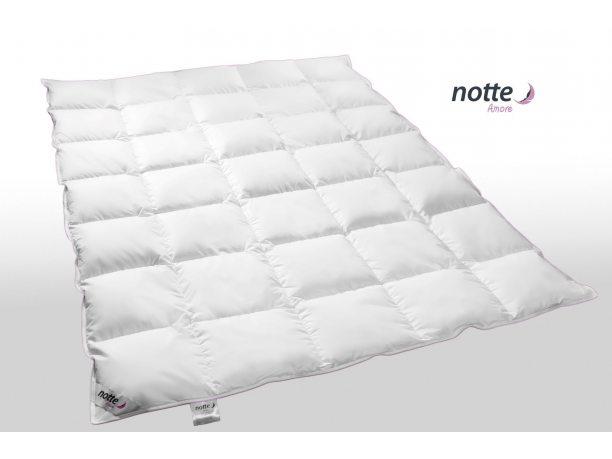 Kołdra całoroczna Puchowa Notte Amore Medium  90 % puch gęsi 200x220