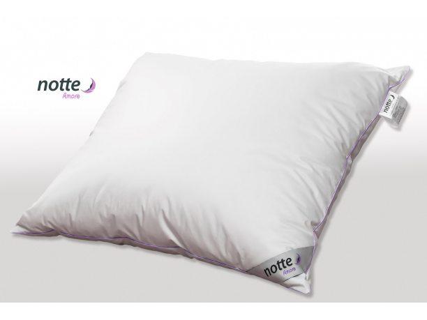 Poduszka puchowa Notte Amore 40x40 trzykomorowa  Animex